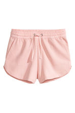 Sweatshirt shorts - Light pink - Ladies | H&M CN 2
