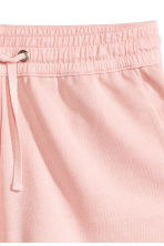 Sweatshirt shorts - Light pink - Ladies | H&M CN 3