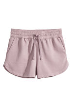 Sweatshirt shorts - Heather purple - Ladies | H&M CN 2
