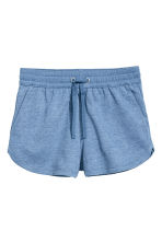 Sweatshirt shorts - Blue marl - Ladies | H&M CA 2