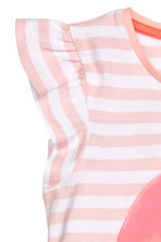 Nightdress with a print motif - Light pink/Strawberry - Kids | H&M CN 2