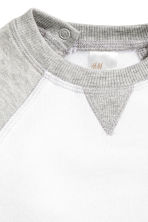 Sweatshirt - White/Grey - Kids | H&M CN 2