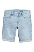 Denim shorts - Super light denim -  | H&M 2