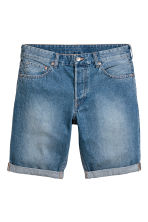Denim shorts - Denim blue - Men | H&M 2