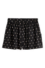 超短褲 - Black/Spotted - Ladies | H&M 2