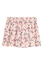 Short shorts - Light pink/Floral - Ladies | H&M 2
