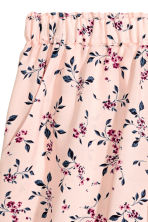 Short shorts - Light pink/Floral - Ladies | H&M 3