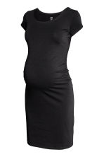 MAMA Jersey dress - Black - Ladies | H&M 2