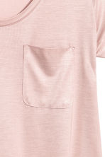 Jersey top - Powder pink - Ladies | H&M CN 3