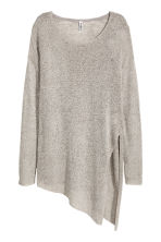 Loose-knit jumper - Grey - Ladies | H&M CN 2