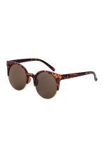 Sunglasses - Tortoise shell - Ladies | H&M IE 1