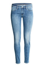Super Skinny Low Jeans - Denim blue/Washed - Ladies | H&M CN 2