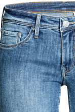 Super Skinny Low Jeans - Denim blue/Washed - Ladies | H&M CN 4
