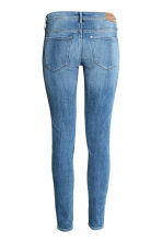 Super Skinny Low Jeans - Denim blue/Washed - Ladies | H&M CN 3