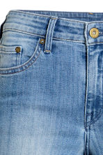 Skinny Regular Jeans - Light denim blue - Ladies | H&M 4
