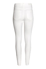 Skinny Regular Jeans - White denim - Ladies | H&M 3
