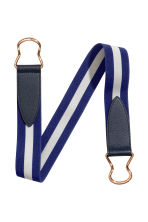 Waist belt with a metal buckle - Dark blue/White - Ladies | H&M 2