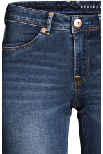 Feather Soft Low Jeggings - Blu denim scuro/lavato - DONNA | H&M IT 4