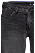 Feather Soft Low Jeggings - Black denim - Ladies | H&M 4