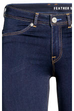 Feather Soft Low Jeggings - Dark denim blue - Ladies | H&M CA 4