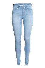 Feather Soft Low Jeggings - Light denim blue - Ladies | H&M 2