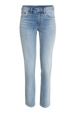 Straight Regular Jeans - Azul denim claro - SENHORA | H&M PT 2