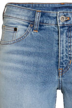 Straight Regular Jeans - Azul denim claro - SENHORA | H&M PT 4