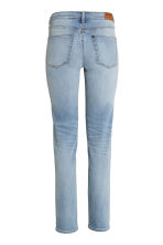 Straight Regular Jeans - Azul denim claro - SENHORA | H&M PT 3