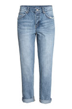 Boyfriend Low Ripped Jeans - Denim blue - Ladies | H&M 2