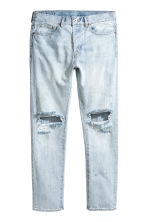 Straight Regular Jeans - Light blue washed out - Men | H&M 2