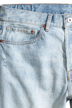 Straight Regular Jeans - Light blue washed out - Men | H&M 4