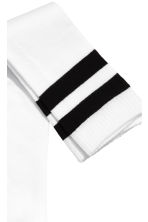 Over-the-knee socks - White - Ladies | H&M 2