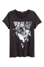 Printed T-shirt - Black - Men | H&M CN 2