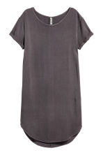 Viscose dress - Dark grey - Ladies | H&M CN 2