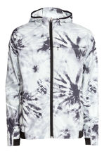 Running jacket - White/Patterned - Men | H&M CN 2