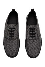 Espadrilles with lacing - Black marl - Men | H&M 2
