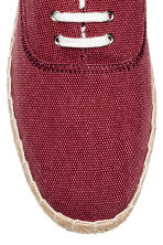 Espadrilles with lacing - Dark red - Men | H&M CN 3