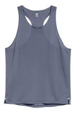 Ultra-light running vest - Dark grey-blue - Men | H&M CN 1