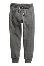 運動長褲 - Dark grey marl -  | H&M 1
