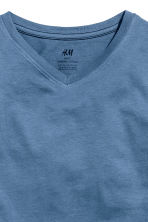 Lot de 2 T-shirts - Bleu chiné - ENFANT | H&M FR 4