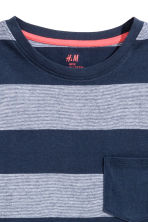 2件入T恤 - Dark blue/Striped -  | H&M 4