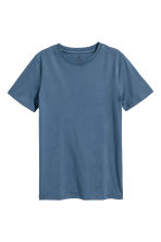 2件装T恤 - Dark blue washed out -  | H&M CN 2