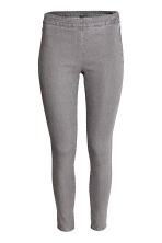 Stretch trousers - Grey -  | H&M 1