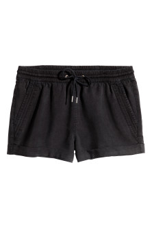 Short court en lyocell