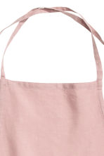 Washed linen apron - Dusky pink - Home All | H&M CN 2