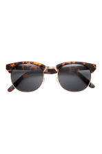 Sunglasses - Tortoise shell - Men | H&M CN 2