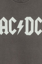 Printed vest top - Dark grey AC/DC - Men | H&M 5