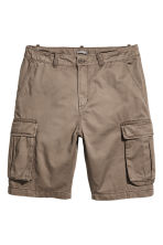 Cargo shorts - Dark mole - Men | H&M 1