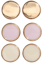 4 pairs earrings - Light pink/Gold - Ladies | H&M CN 2