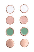4 pairs earrings - Pink/Green -  | H&M CA 1